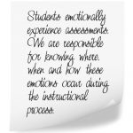 Students Emotionally Experience Assessments Dr Pilcher