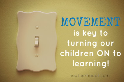Incorporate Movement in Classroom