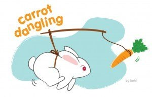 recognize and reward carrot dangling