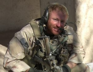 Jason Walter transitioning from military service