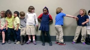 Best Practices: Have students line up outside the door.
